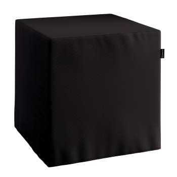 Pokrowiec na pufę kostke kostka 40x40x40 cm w kolekcji Cotton Panama, tkanina: 702-09