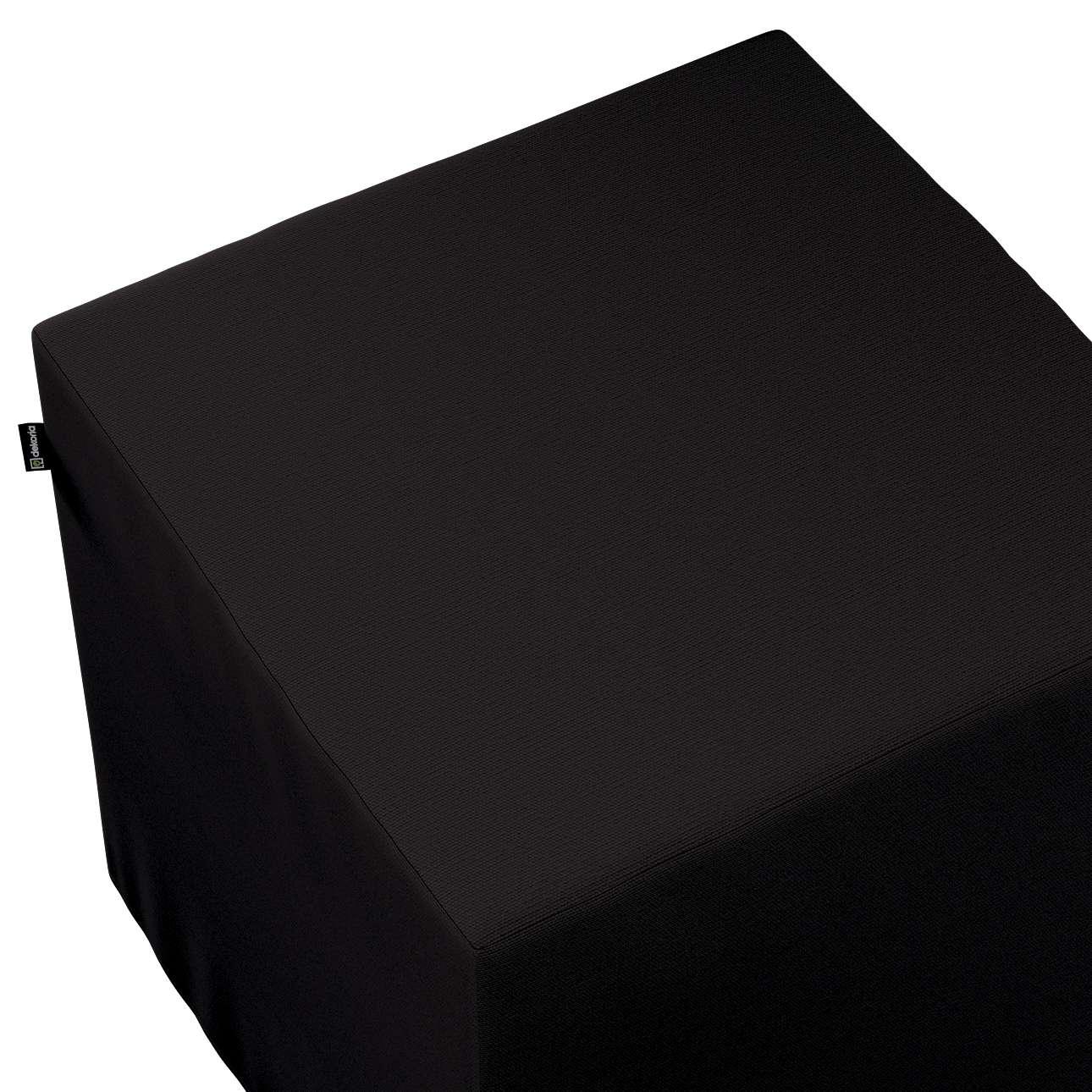 Bezug für Sitzwürfel von der Kollektion Cotton Panama, Stoff: 702-09