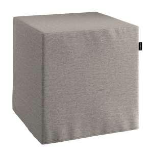 Bezug für Sitzwürfel Bezug für Sitzwürfel 40x40x40 cm von der Kollektion Edinburgh , Stoff: 115-77