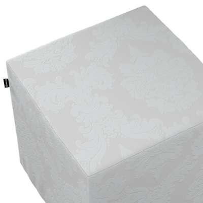 Bezug für Sitzwürfel von der Kollektion Damasco, Stoff: 613-81