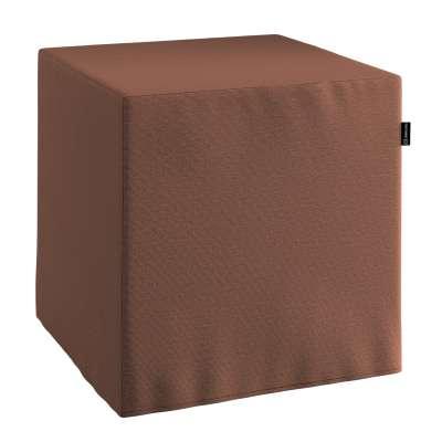 Pokrowiec na pufę kostkę 133-09 brązowy Kolekcja Loneta