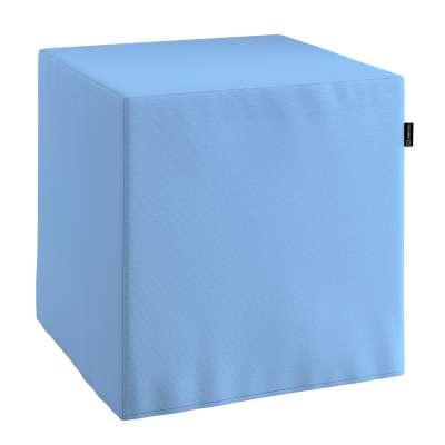 Pokrowiec na pufę kostkę w kolekcji Loneta, tkanina: 133-21