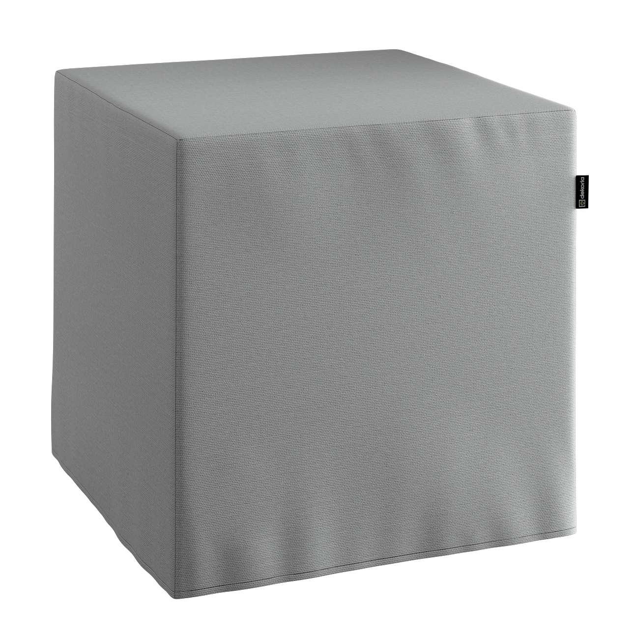Bezug für Sitzwürfel Bezug für Sitzwürfel 40x40x40 cm von der Kollektion Loneta, Stoff: 133-24