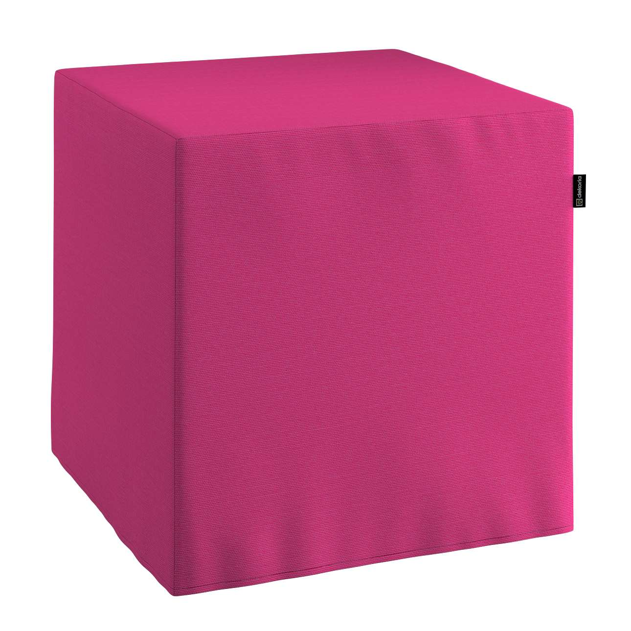 Pokrowiec na pufę kostke kostka 40x40x40 cm w kolekcji Loneta, tkanina: 133-60