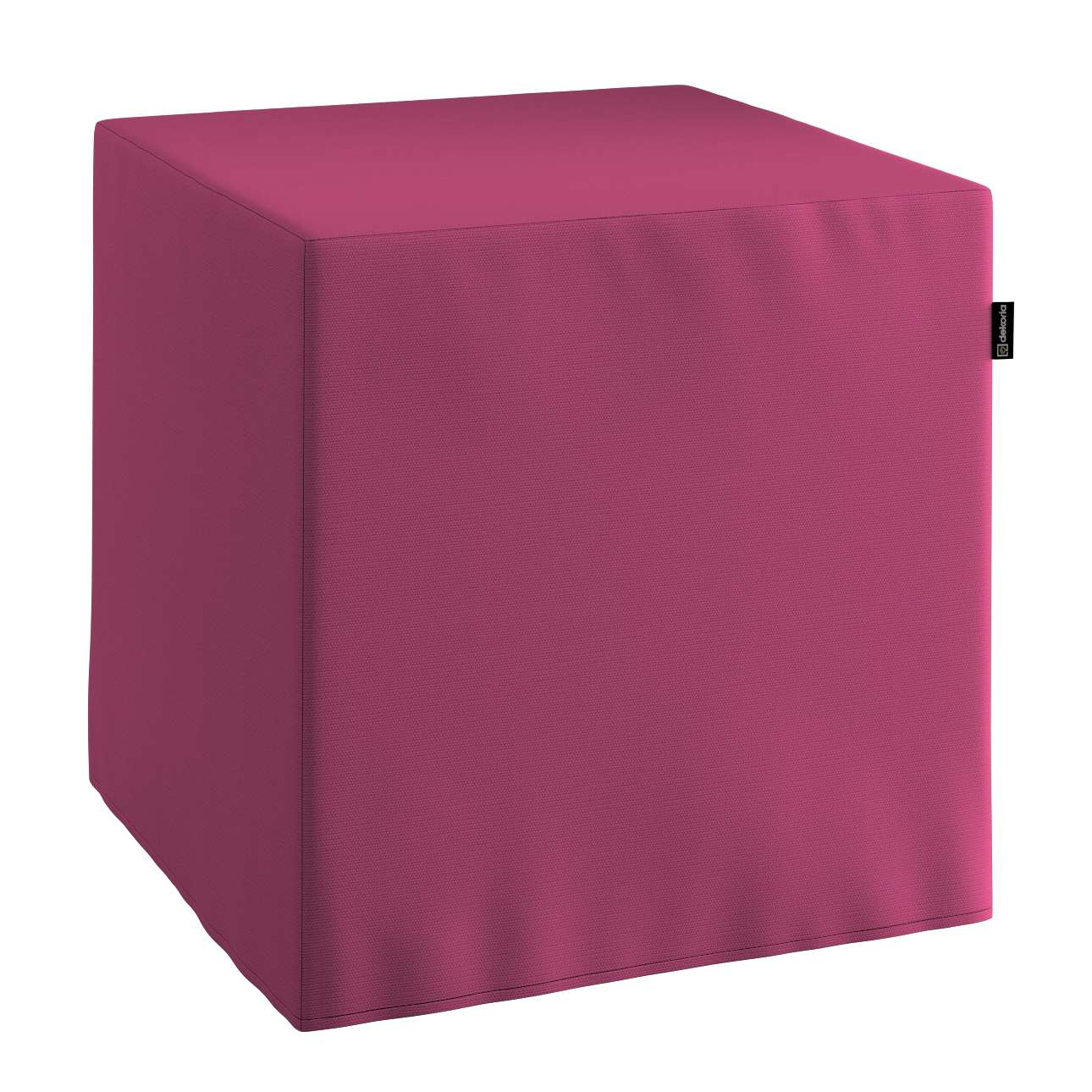 Bezug für Sitzwürfel Bezug für Sitzwürfel 40x40x40 cm von der Kollektion Cotton Panama, Stoff: 702-32