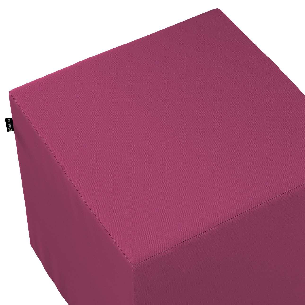 Bezug für Sitzwürfel von der Kollektion Cotton Panama, Stoff: 702-32