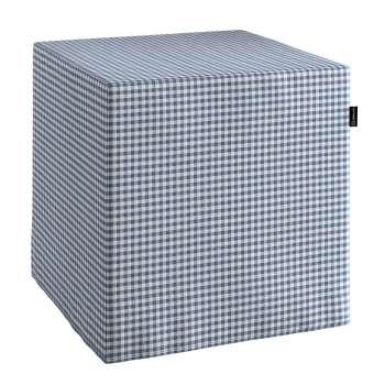 Pufo užvalkalas 40x40x40 cm kubas kolekcijoje Quadro, audinys: 136-00