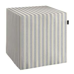 Pufo užvalkalas 40x40x40 cm kubas kolekcijoje Quadro, audinys: 136-02