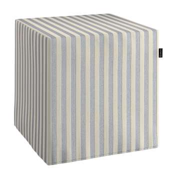 Bezug für Sitzwürfel Bezug für Sitzwürfel 40x40x40 cm von der Kollektion Quadro, Stoff: 136-02