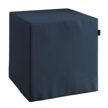 Poťah na taburetku,kocka V kolekcii Quadro, tkanina: 136-04