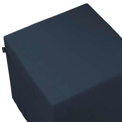 Bezug für Sitzwürfel von der Kollektion Quadro, Stoff: 136-04