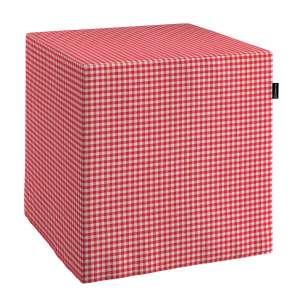 Bezug für Sitzwürfel Bezug für Sitzwürfel 40x40x40 cm von der Kollektion Quadro, Stoff: 136-15