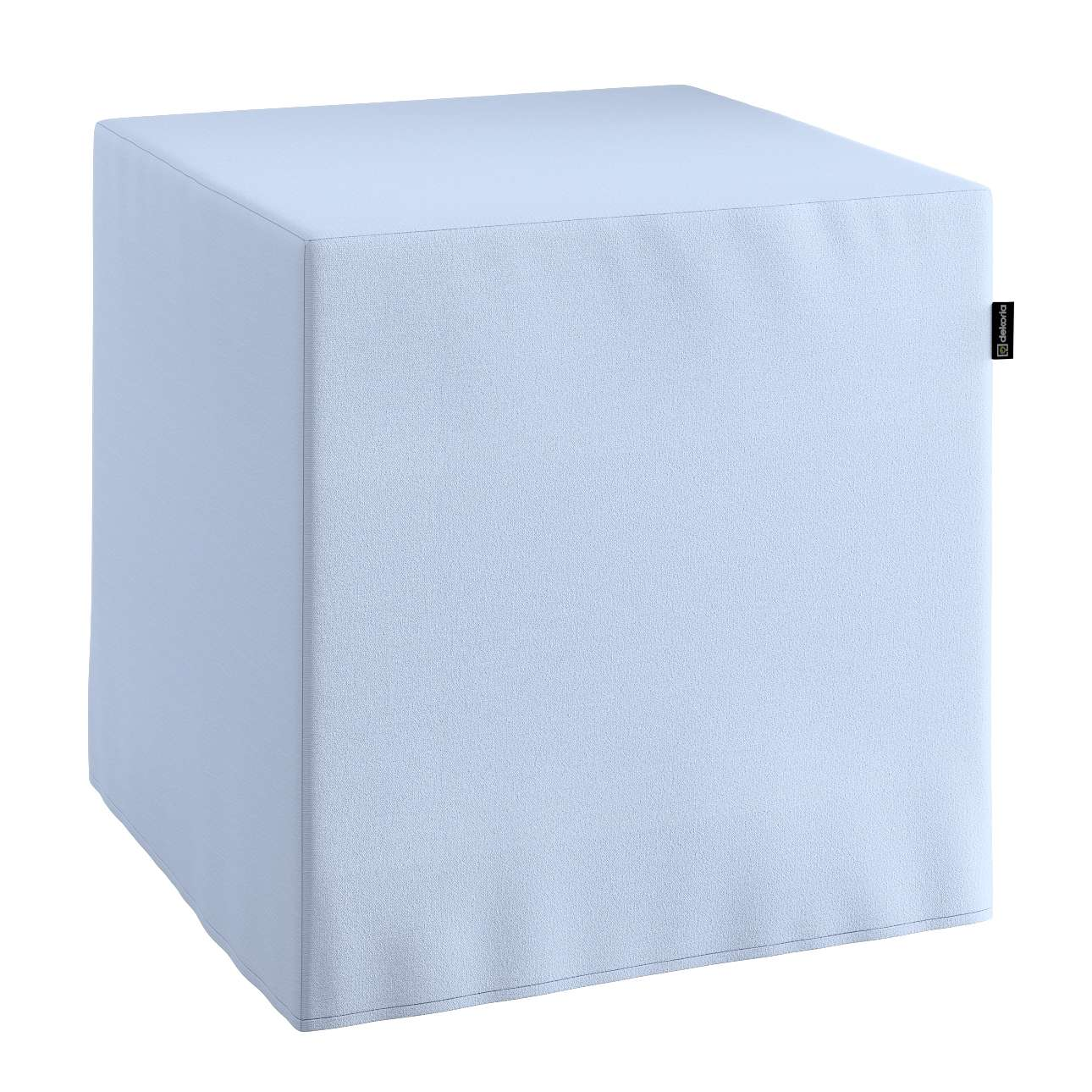 Pufo užvalkalas 40x40x40 cm kubas kolekcijoje Loneta , audinys: 133-35