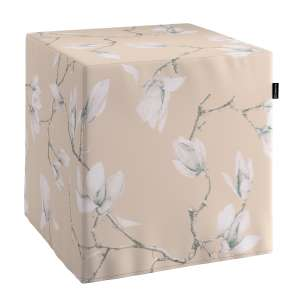 Bezug für Sitzwürfel Bezug für Sitzwürfel 40x40x40 cm von der Kollektion Flowers, Stoff: 311-12