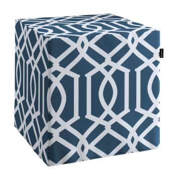 Bezug für Sitzwürfel Bezug für Sitzwürfel 40x40x40 cm von der Kollektion Comics, Stoff: 135-10
