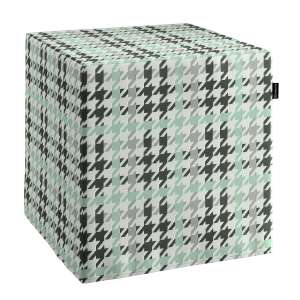 Bezug für Sitzwürfel Bezug für Sitzwürfel 40x40x40 cm von der Kollektion Brooklyn, Stoff: 137-77