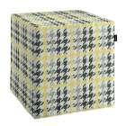 Pufo užvalkalas 40x40x40 cm kubas kolekcijoje Brooklyn, audinys: 137-79
