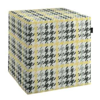 Bezug für Sitzwürfel Bezug für Sitzwürfel 40x40x40 cm von der Kollektion Brooklyn, Stoff: 137-79