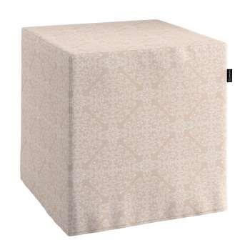 Bezug für Sitzwürfel Bezug für Sitzwürfel 40x40x40 cm von der Kollektion Flowers, Stoff: 140-39
