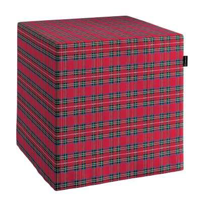 Huzat puffhoz 126-29 piros-zöld Méteráru Bristol Lakástextil