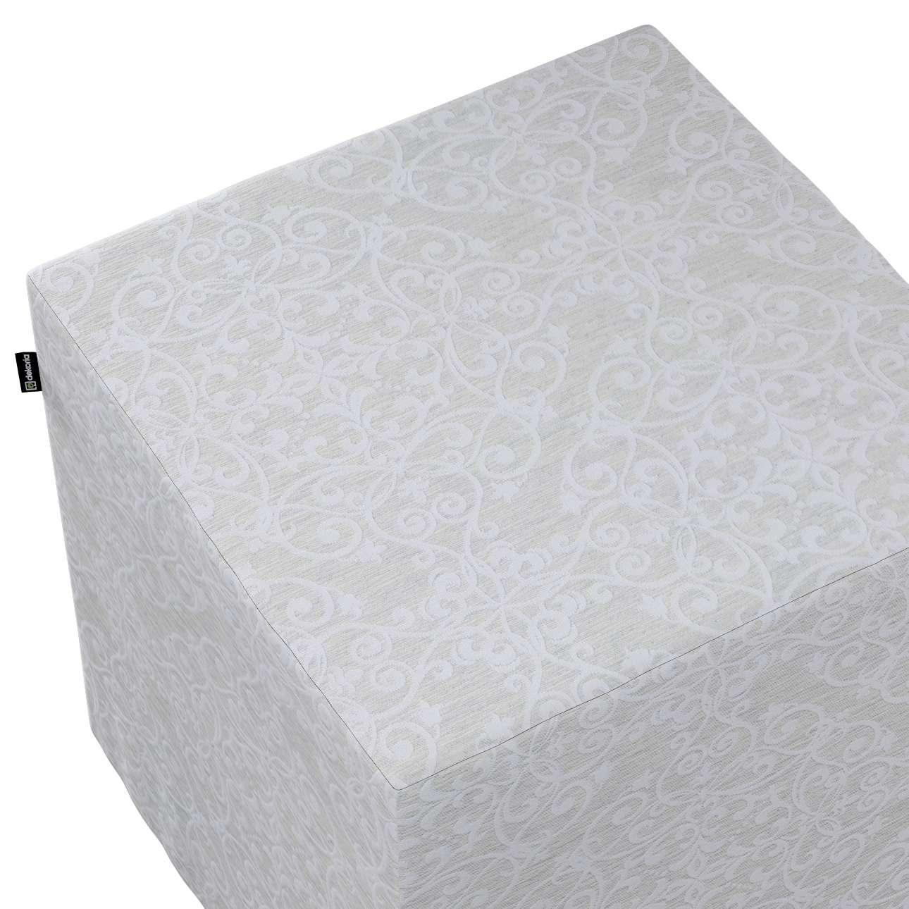 Bezug für Sitzwürfel von der Kollektion Venice, Stoff: 140-49