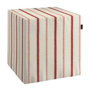 Bezug für Sitzwürfel Bezug für Sitzwürfel 40x40x40 cm von der Kollektion Avinon, Stoff: 129-15