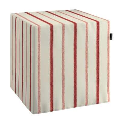 Bezug für Sitzwürfel von der Kollektion Avinon, Stoff: 129-15