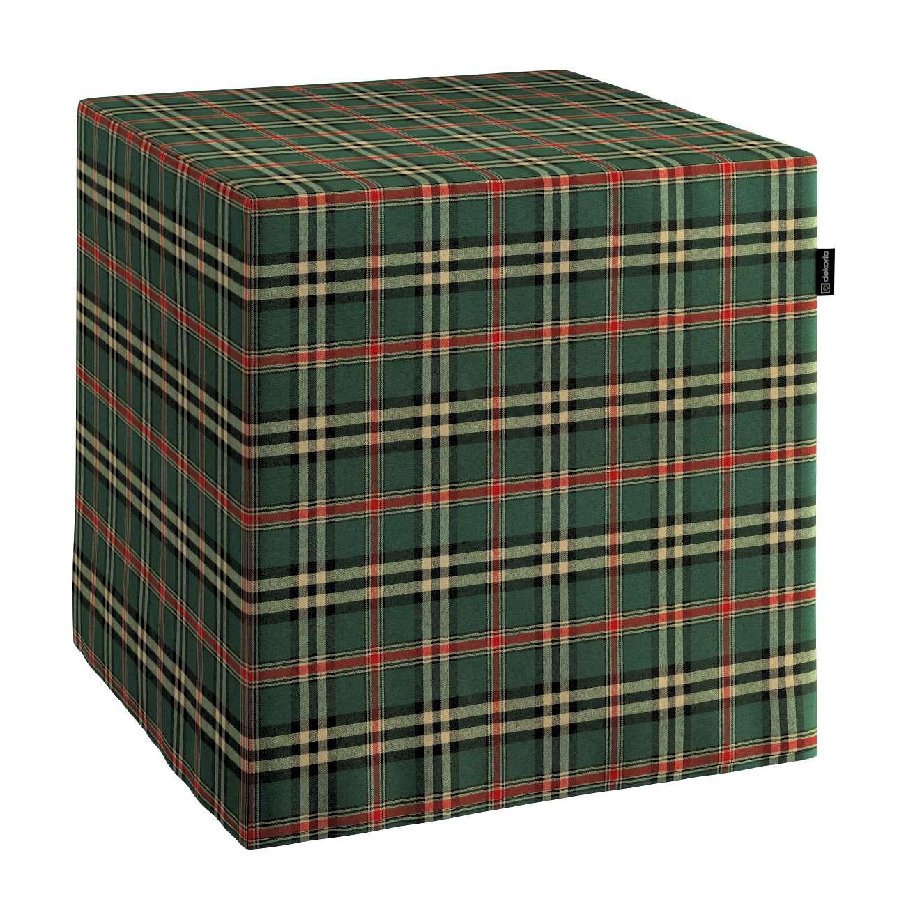 Betræk til siddepuf fra kollektionen Bristol, Stof: 142-69