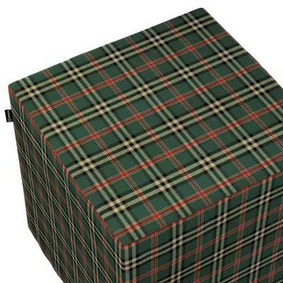 Bezug für Sitzwürfel von der Kollektion Bristol, Stoff: 142-69