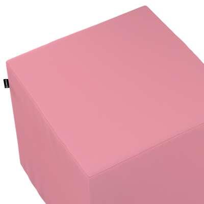 Pokrowiec na pufę kostkę w kolekcji Loneta, tkanina: 133-62