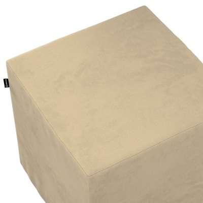 Bezug für Sitzwürfel von der Kollektion Living II, Stoff: 160-82