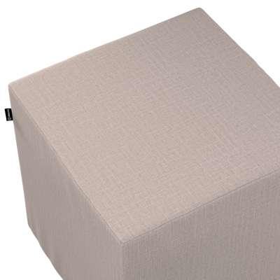 Bezug für Sitzwürfel von der Kollektion Living II, Stoff: 160-85