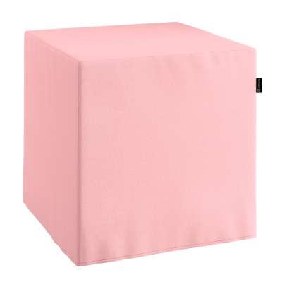 Poťah na taburetku,kocka 133-39 púdrovo ružová Kolekcia Loneta