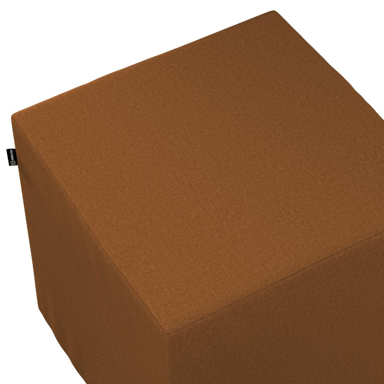 Bezug für Sitzwürfel von der Kollektion Living II, Stoff: 161-28