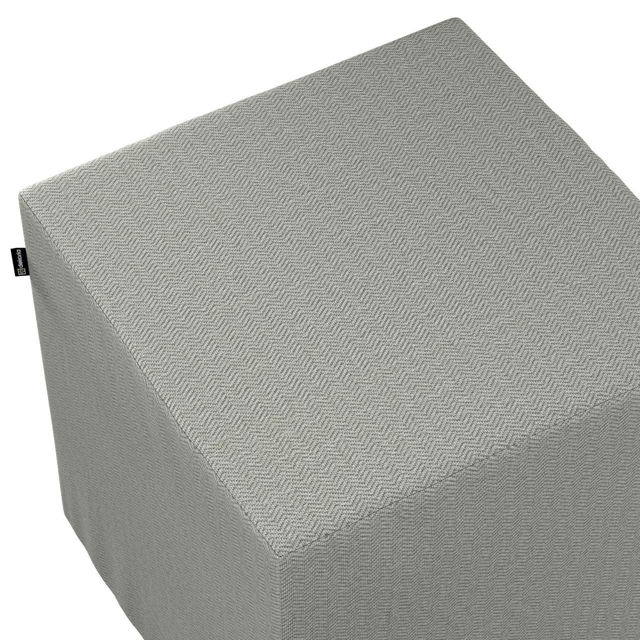 Bezug für Sitzwürfel von der Kollektion Bergen, Stoff: 161-83