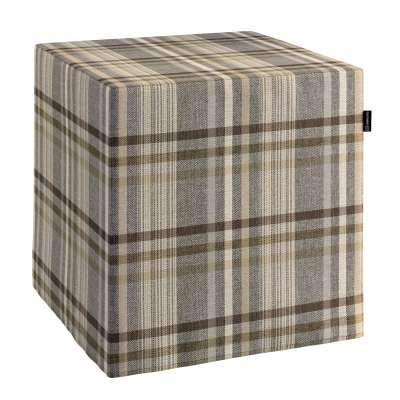 Bezug für Sitzwürfel von der Kollektion Edinburgh, Stoff: 703-17