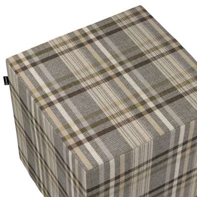 Náhradní potah na sedák -kostka pevná 703-17 hnědo - bežová kostka  Kolekce Edinburgh