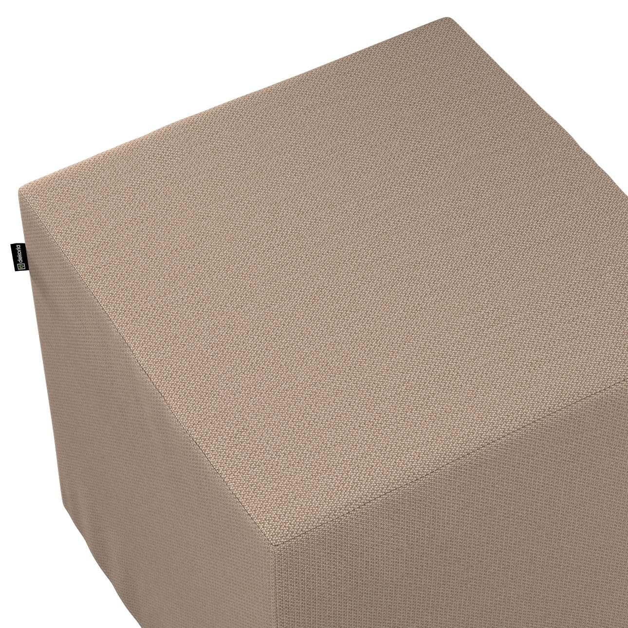 Bezug für Sitzwürfel von der Kollektion Bergen, Stoff: 161-75