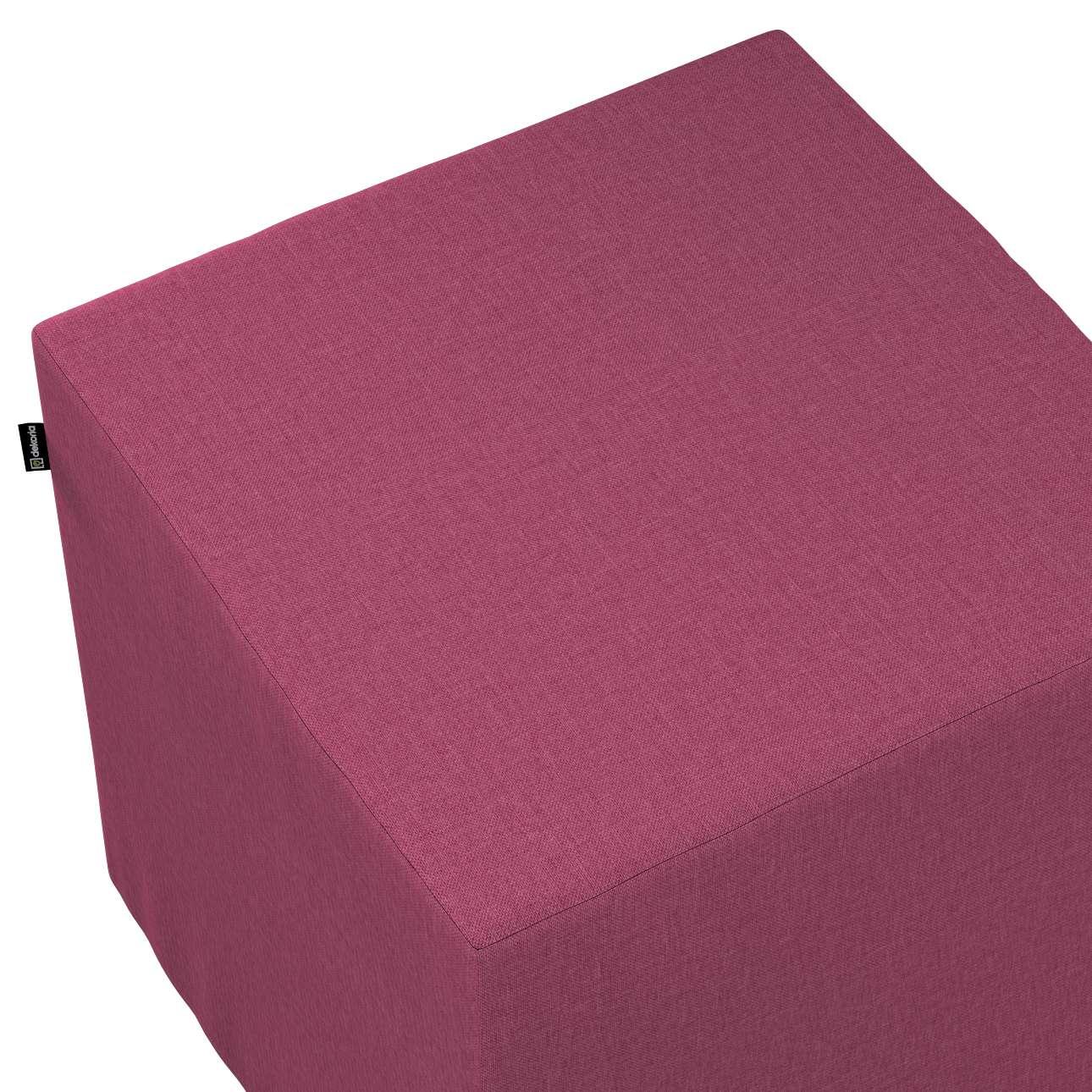 Bezug für Sitzwürfel von der Kollektion Living, Stoff: 160-44