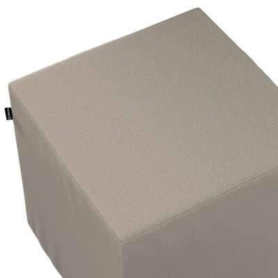 Bezug für Sitzwürfel von der Kollektion Living, Stoff: 161-53