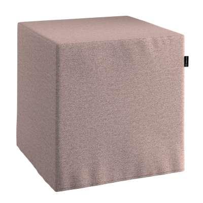 Hoes voor zitkubus 161-88 grijs-roze gemêleerd Collectie Madrid