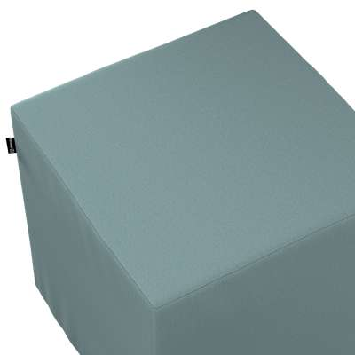 Bezug für Sitzwürfel 702-40 eucalyptus grün Kollektion Cotton Panama