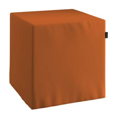 Bezug für Sitzwürfel 702-42 Karamell Kollektion Cotton Panama