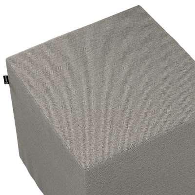Náhradní potah na sedák -kostka pevná 161-91 béžová melanž  Kolekce Madrid
