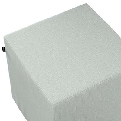 Náhradní potah na sedák -kostka pevná 161-41 šedý pletenec Kolekce Living