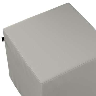 Náhradní potah na sedák -kostka pevná 161-54 světle šedá  Kolekce Living