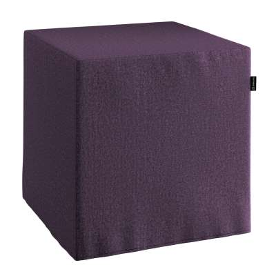 Náhradní potah na sedák -kostka pevná 161-67 fialová Kolekce Living