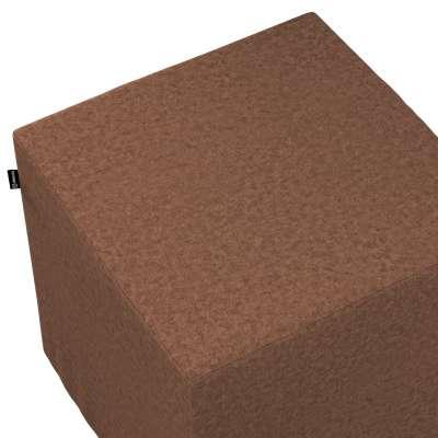 Náhradní potah na sedák -kostka pevná 161-65 hnědý šenil Kolekce Living