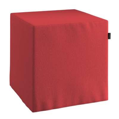 Bezug für Sitzwürfel von der Kollektion Living, Stoff: 161-56