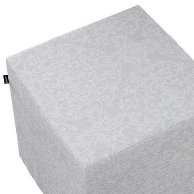 Bezug für Sitzwürfel 140-49 grau Kollektion Christmas